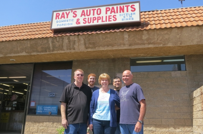 Expanding our footprint to north hollywood for Dupont automotive paint store locator