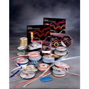 Burgundy 3M Scotchcal Striping Tape 70310 1//4 in x 40 ft
