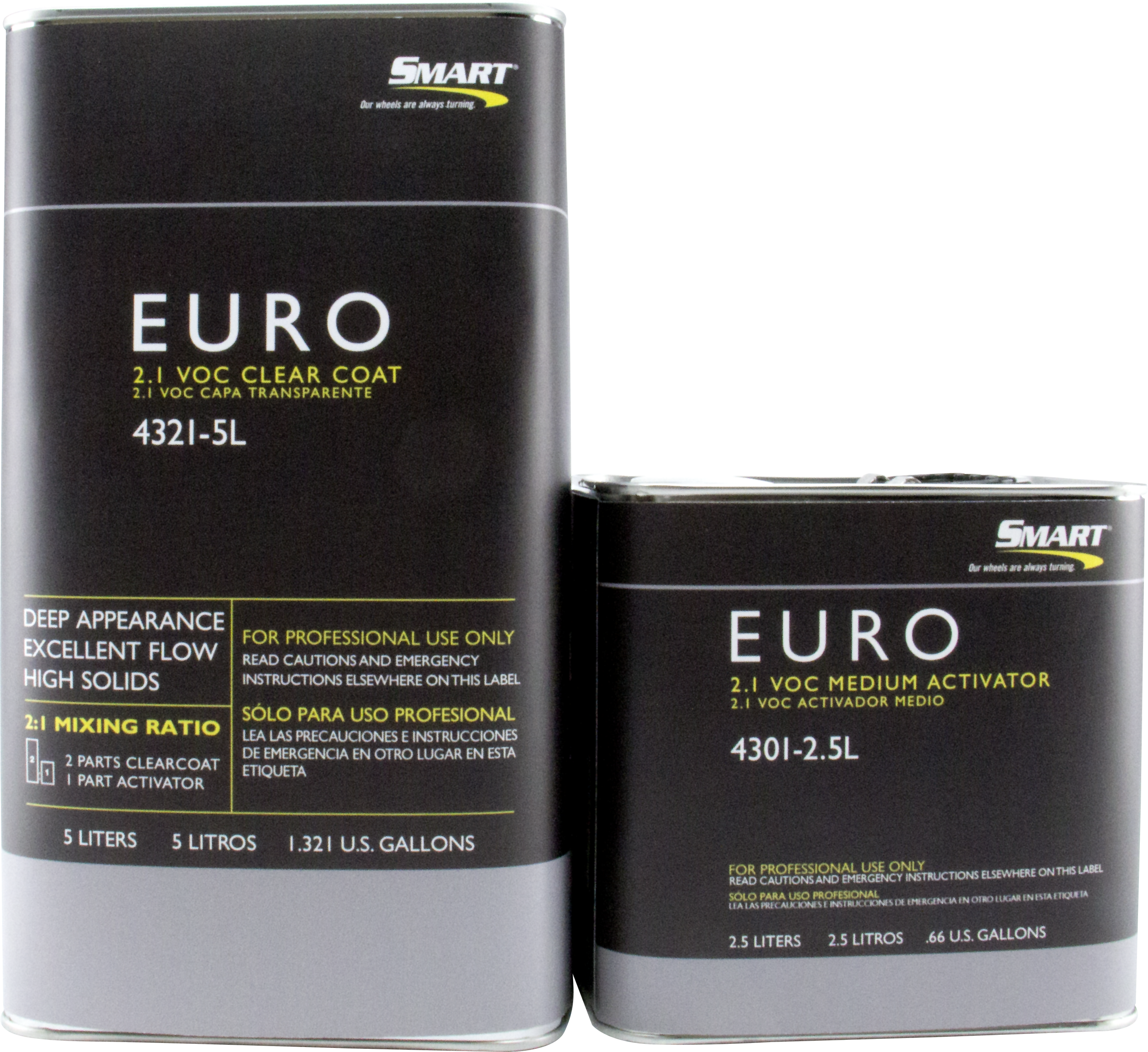 Automotive Restoration And Industrial Paint Products Finishmaster Thinner Spies Hecker 1 Liter Smart 21 Voc Euro Clear Coat 5l